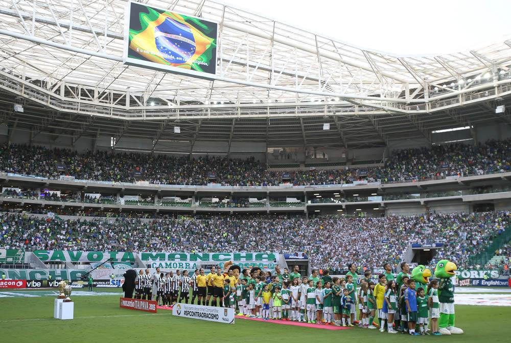 Torcida palmeirense mostra sua força no Allianz Parque. (Cesar Greco/Ag. Palmeiras/Divulgação)
