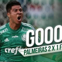 Gols – Palmeiras 2 x 1 Fluminense
