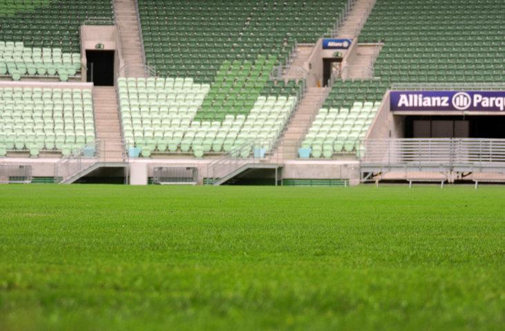 Apesar do gramado reforçado, Palmeiras pode ter que mandar Derby fora do Allianz Parque. (Mídia Palmeirense)