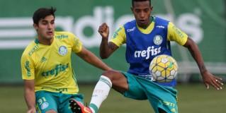Palmeiras treina e viaja para Chapecó-SC com 26 jogadores