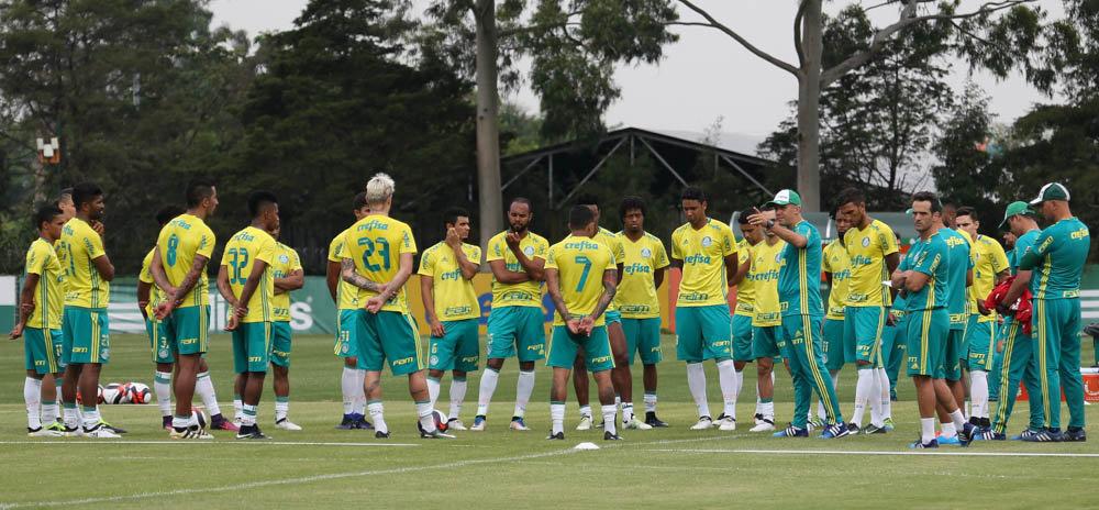 O Palmeiras definiu na manhã desta quinta-feira (02) a lista de inscritos para a disputa do Campeonato Paulista de 2017. (Cesar Greco/Ag.Palmeiras/Divulgação)