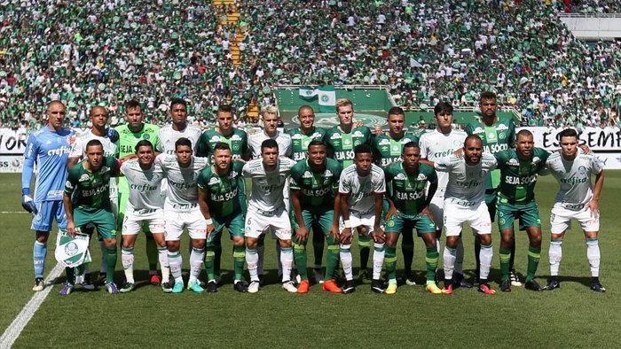 Chapecoense e Palmeiras se reencontram neste sábado (21), na Arena Condá, para a disputa de um jogo amistoso. (Cesar Greco/Ag Palmeiras/Divulgação)