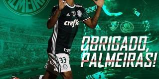 Gabriel Jesus escreve carta de despedida e agradecimento ao Palmeiras