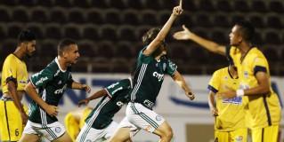 Palmeiras vence ansiedade e busca a virada sobre o Paranoá na Copinha