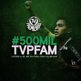 Em 3 anos, TV Palmeiras chega a 500 mil inscritos e entra no Top 10 mundial