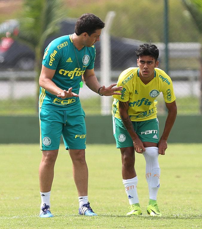 Verdão busca manter a liderança do Grupo 7 da Copa São Paulo. (Fabio Menotti/Ag.Palmeiras/Divulgação)