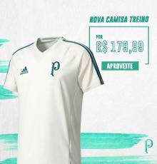 Compre a nova camisa de treino do Verdão!