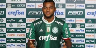 Com a mística 12, Ángel Borja enaltece o Palmeiras: 'É uma bênção'