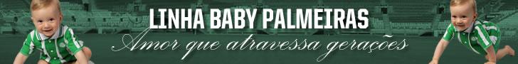 Linha Baby Palmeiras - A partir de R$ 9,90