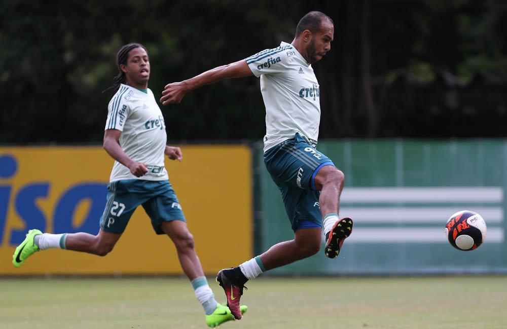 Alecsandro deve ser titular contra o Audax. (Cesar Greco/Ag Palmeiras/Divulgação)