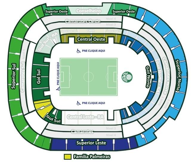 Palmeiras inaugura Setor Família no Allianz Parque. (Reprodução/Avanti)