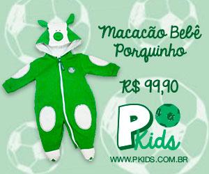 Seu bebê caracterizado com as cores do Verdão, com muita fofura.