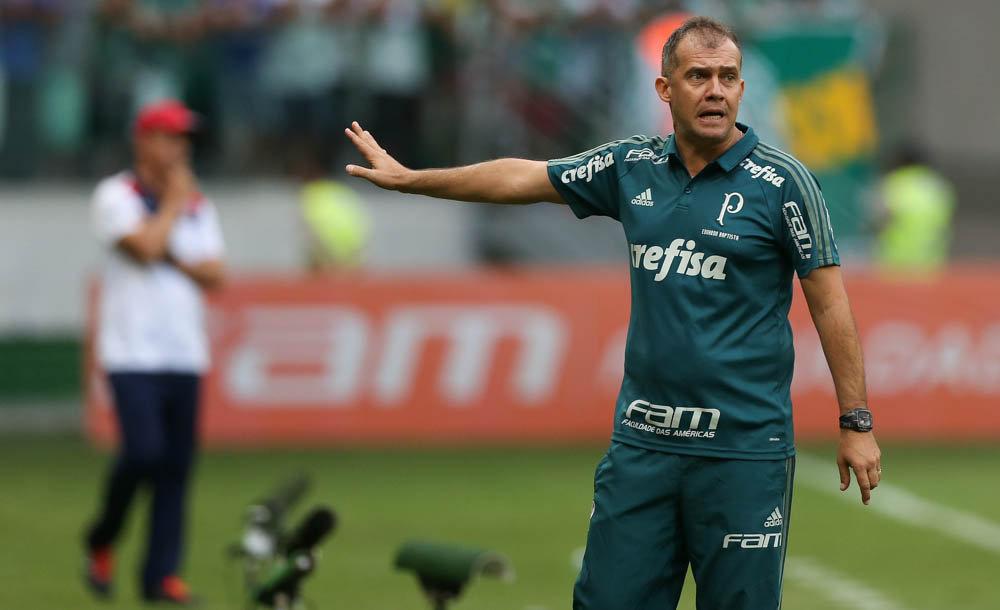 Eduardo valorizou o empate e mira triunfo na próxima rodada. (Cesar Greco/Ag. Palmeiras/Divulgação)