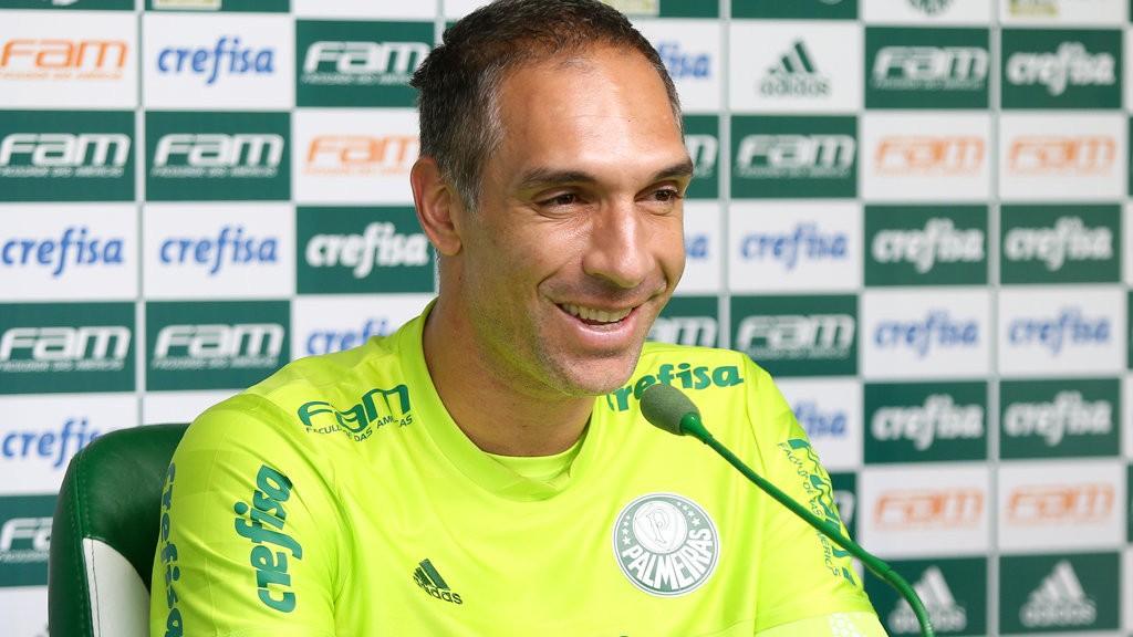 Prass soma 209 jogos pelo Verdão. (Fabio Menotti/Ag. Palmeiras/Divulgação)