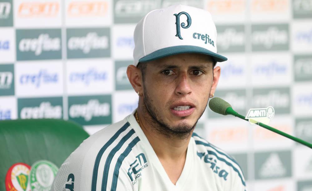 Guerra falou sobre o próximo adversário do Verdão na Libertadores na coletiva desta segunda-feira (10). (Cesar Greco/Ag Palmeiras/Divulgação)