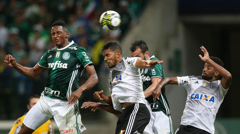 Foi a primeira vitória do Verdão diante da Ponte no Allianz Parque. (Cesar Greco/Ag. Palmeiras/Divulgação)