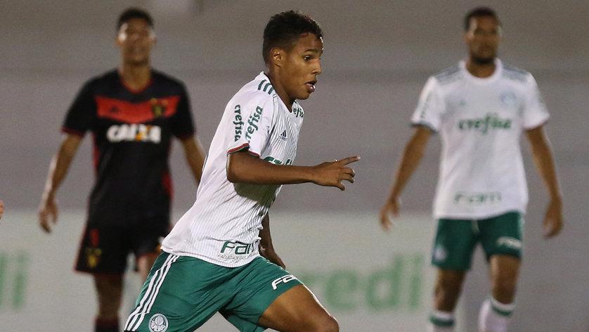 Palmeiras garantiu classificação para as quartas de final da Copa do Brasil Sub-20. (Fabio Menotti/Ag Palmeiras/Divulgação)