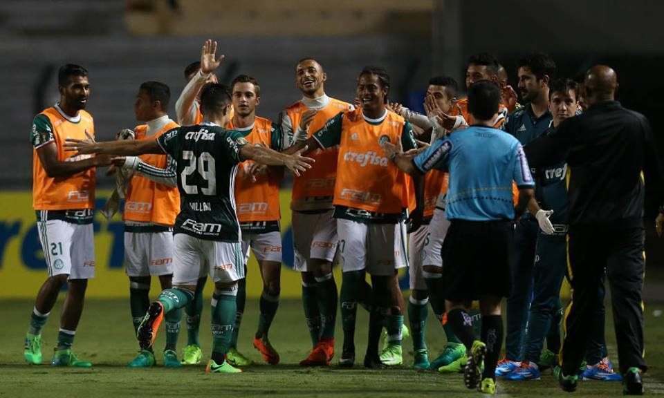 Willian chegou a cinco gols pelo Verdão. (Cesar Greco/Ag. Palmeiras/Divulgação)