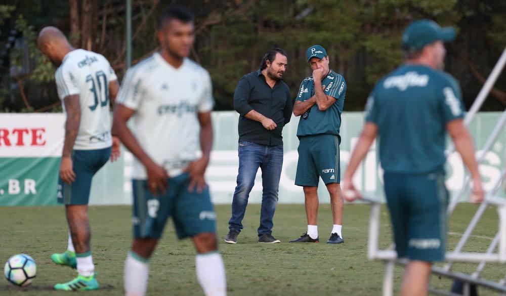 Campeão brasileiro em 2016, Cuca reestreará pelo clube no domingo (14). (Cesar Greco/Ag Palmeiras/Divulgação)