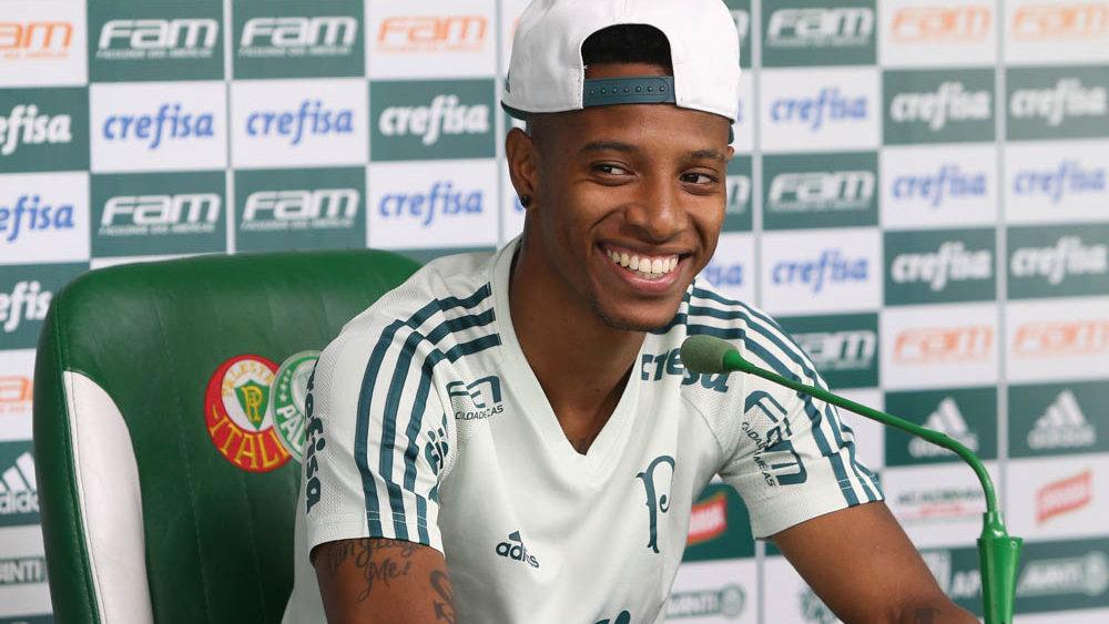 Um dos principais nomes do elenco, Tchê Tchê relembra com orgulho a sua caminhada no Alviverde. (Cesar Greco/Ag Palmeiras/Divulgação)