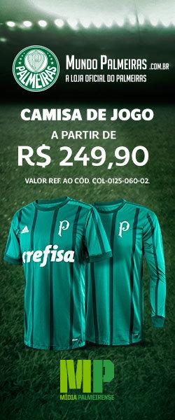 Camisas de jogo do Palmeiras a partir de R$ 249,90